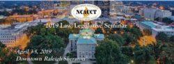 NCACCT 2019 Law-Legislative Header